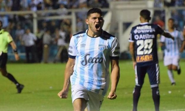 Barbona, el mejor mediocampista de la Copa Argentina
