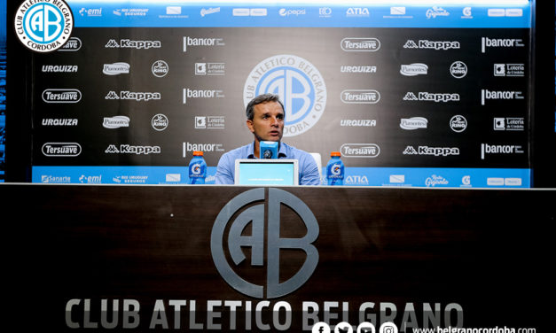 Pablo Lavallén dejó su cargo en Belgrano