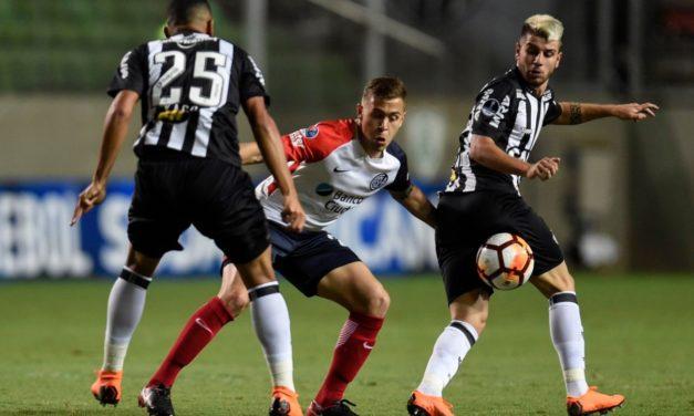 San Lorenzo empató en Brasil y se copa en la Sudamericana