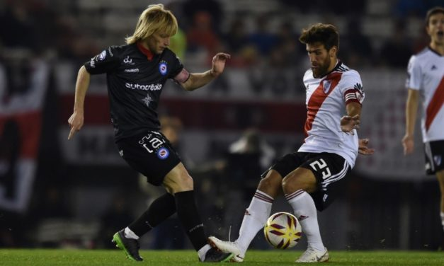 River no pudo cortar su racha ante Argentinos
