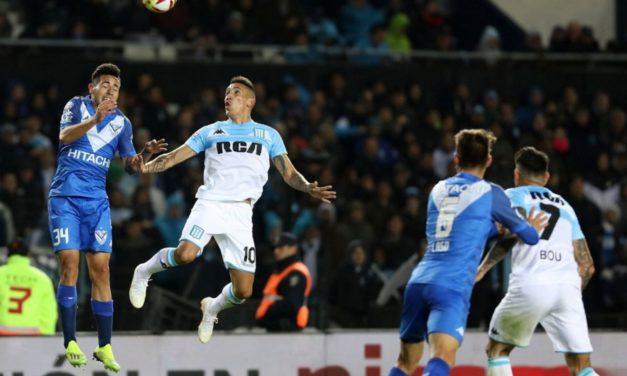 Racing le ganó a Vélez con más guapeza que fútbol