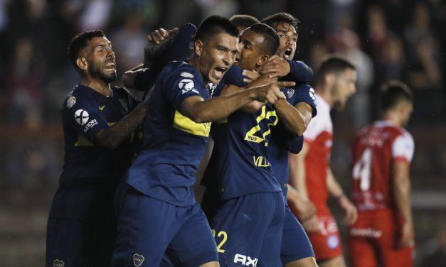 Boca golpeó justo y ganó en La Paternal