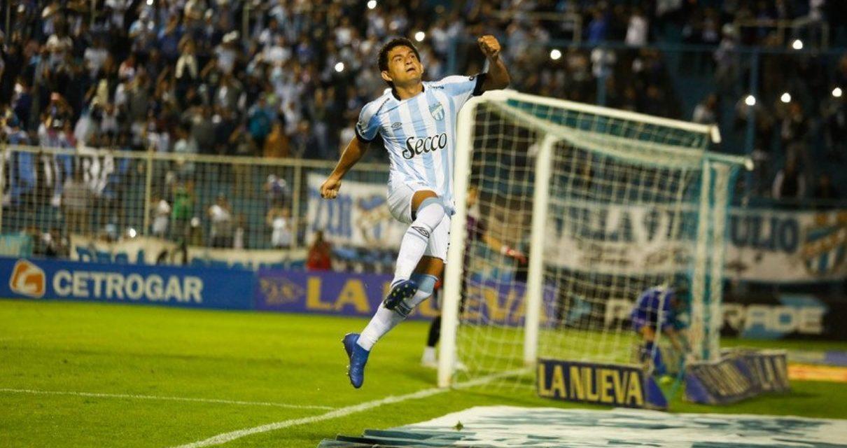 Con hat trick del Pulga, Atlético goleó a Tigre