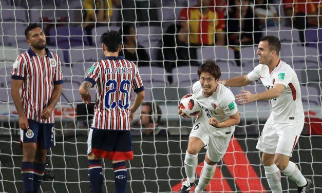 Kashima eliminó a Chivas y va por el Madrid