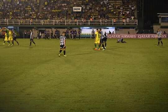 Botafogo le cortó las alas al Halcón