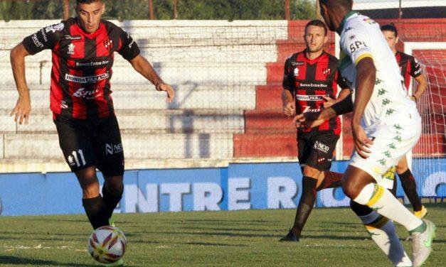 Aldosivi se trae un arriesgado empate de Paraná