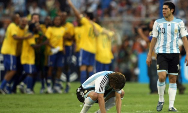 ¿Como le fue a Argentina contra Brasil en Copa América?